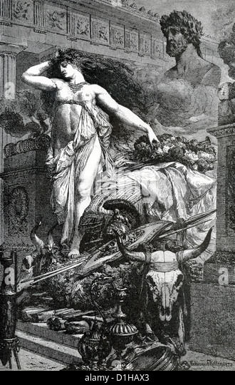 Aeneas as a Hero and Leader