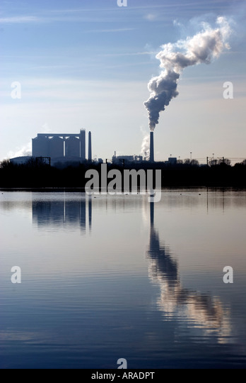 British Sugar Factory Newark UK - Stock Image