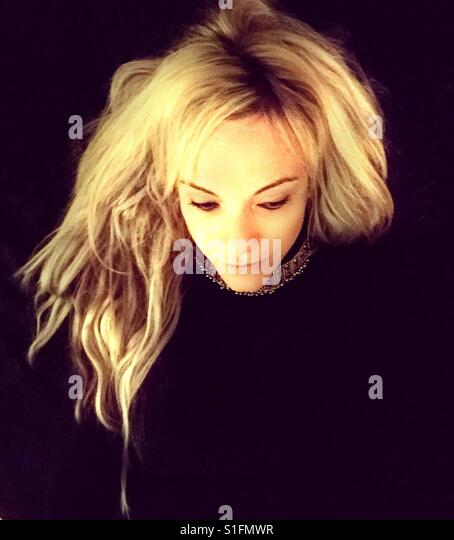 Blonde woman - Stock-Bilder