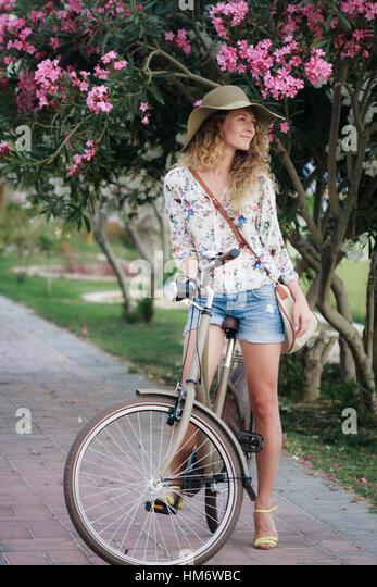 blonde pink bike playboy bmx