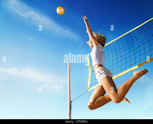 Volleyball - Stock Image