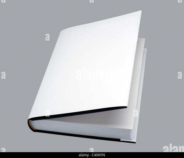 Plain White Book Cover : Plain book cover stock photos