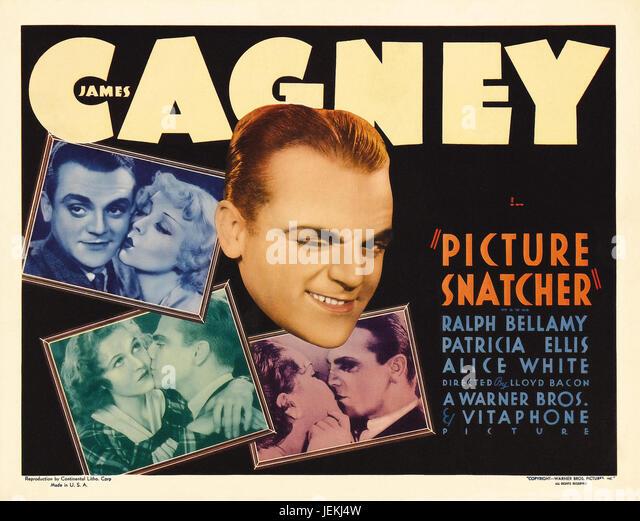 PICTURE SNATCHER 1933 Warner Bros film with James Cagney - Stock-Bilder