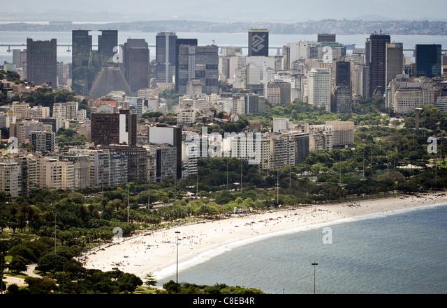 Guanabara bay, Rio de Janeiro, Brazil - Stock Image