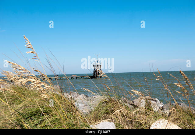 Alabama fishing stock photos alabama fishing stock for Dauphin island fishing pier