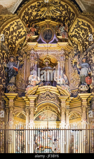 Palma de Majorca, Spain, Sacred objects in the museum of the Cathedra - Stock Image