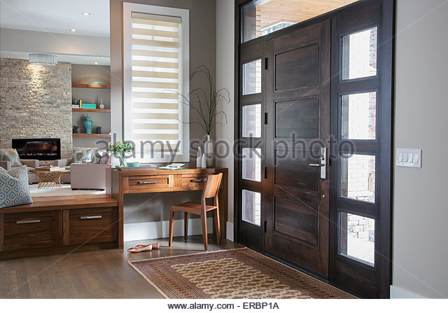 Elegant foyer - Stock Image