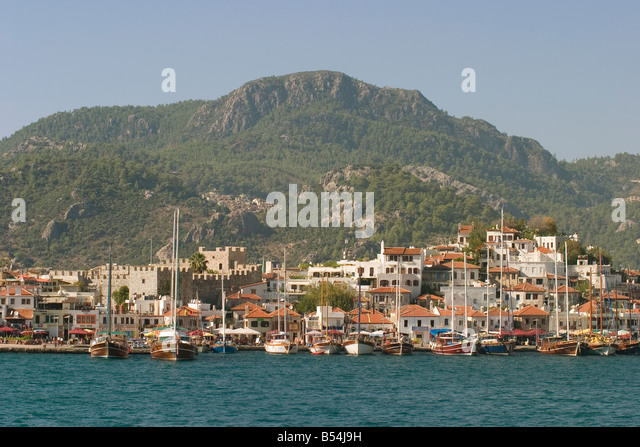Turkey Lycia Marmaris - Stock Image