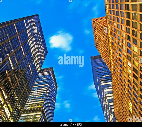 New York City, architecture - Stock-Bilder