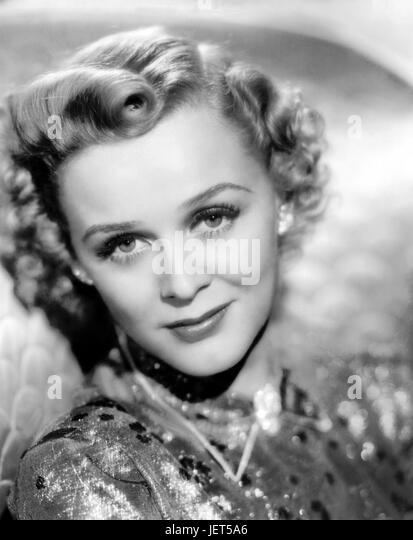 GLORIA STUART (1910-2010) US film actress about 1950 - Stock-Bilder