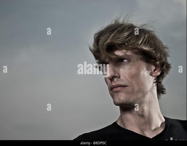 Male athlete - Stock Image