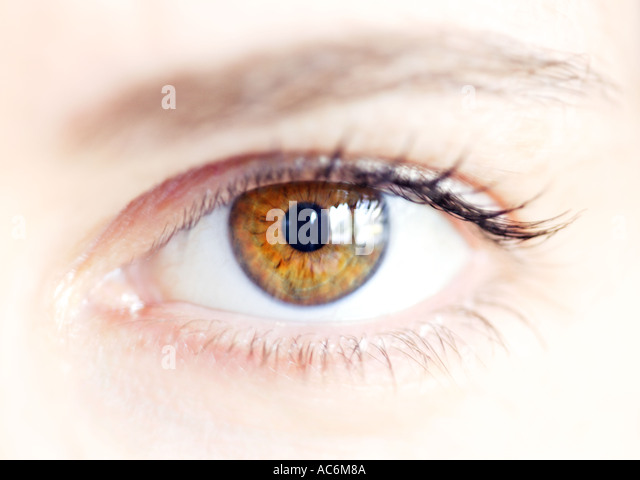 eye symbol of seeing look sense perception vision of future observation search perspective aim view hope - Stock-Bilder