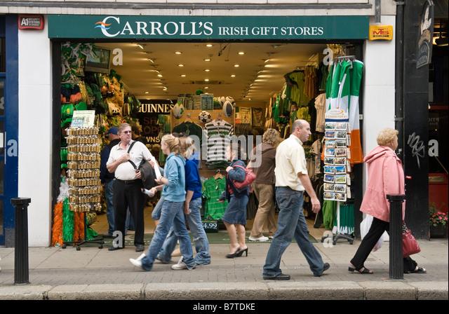 shop ireland dublin souvenir stock photos shop ireland