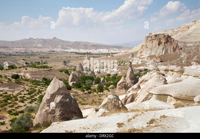 area of zelve, landscape, cappadocia, anatolia, turkey, asia - Stock Image
