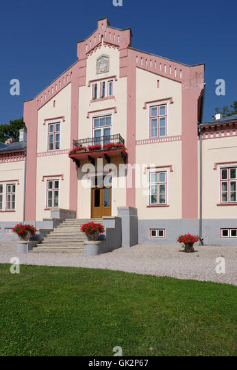 Pädaste manor. Muhus island. Saaremaa. Estonia - Stock Image