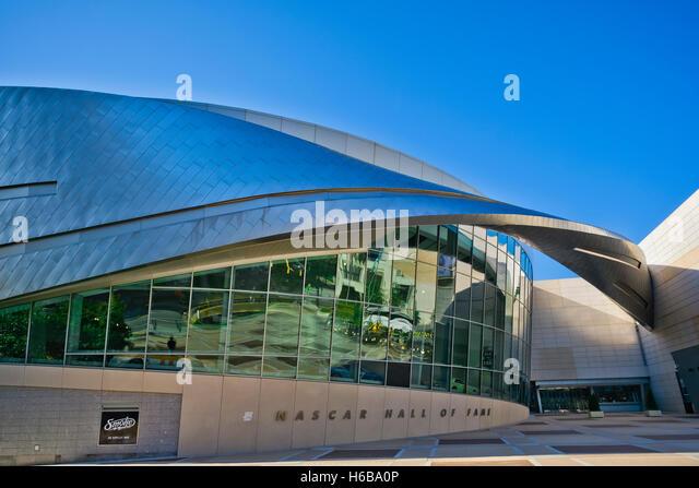 Nascar Hall Of Fame, Charlotte, NC - Stock Image