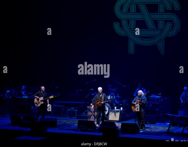 Bournemouth, UK. 05th Oct, 2013. Crosby Stills and Nash ( 5th October 2013 )  at the Bournemouth International Centre. - Stock Image