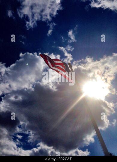 American flag. - Stock-Bilder