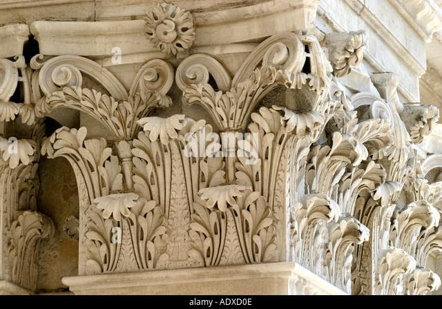the great Basilica of Loreto in Le Marche Italy - Stock Image