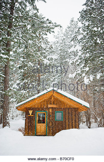 Winter in the Methow Valley, Washington - Stock-Bilder