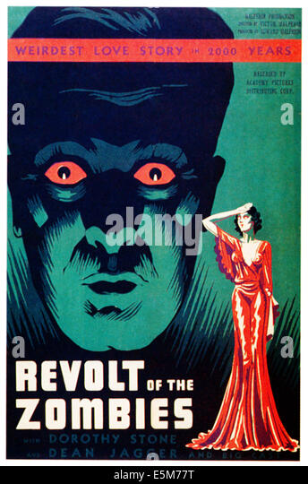 REVOLT OF THE ZOMBIES, 1936 - Stock Image