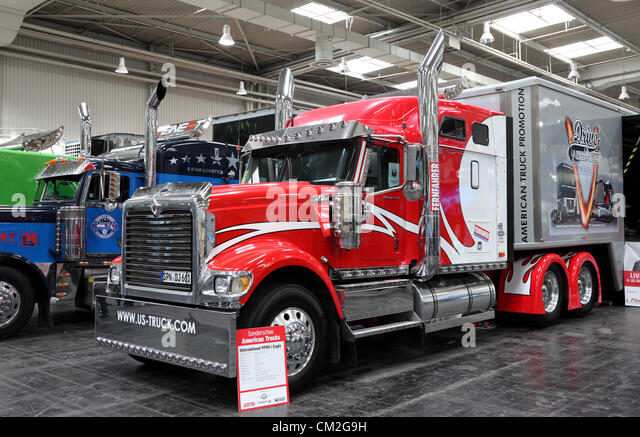 International show stock photos international show stock for Commercial motor used trucks