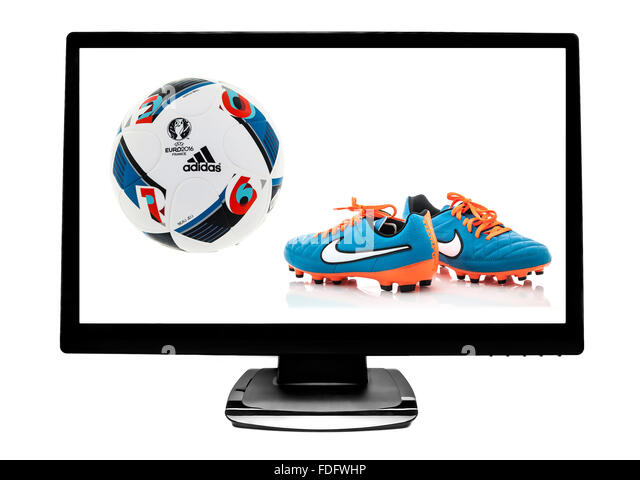 lcd screen football stock photos lcd screen football stock images alamy. Black Bedroom Furniture Sets. Home Design Ideas