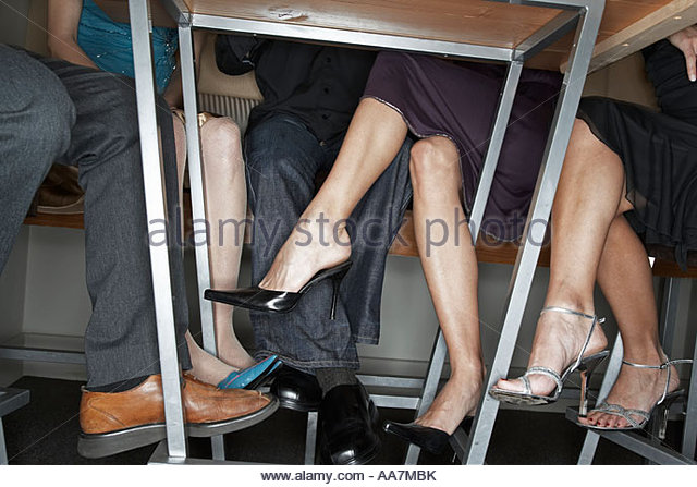 Legs Under Table : Legs Under Table Stock Photos & Legs Under Table Stock Images - Alamy