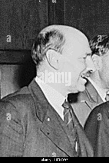 Clement Attlee Potsdam 1945 - Stock Image