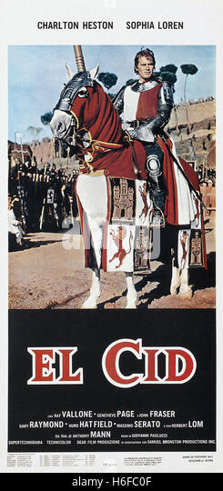 el cid movie poster stock photos amp el cid movie poster