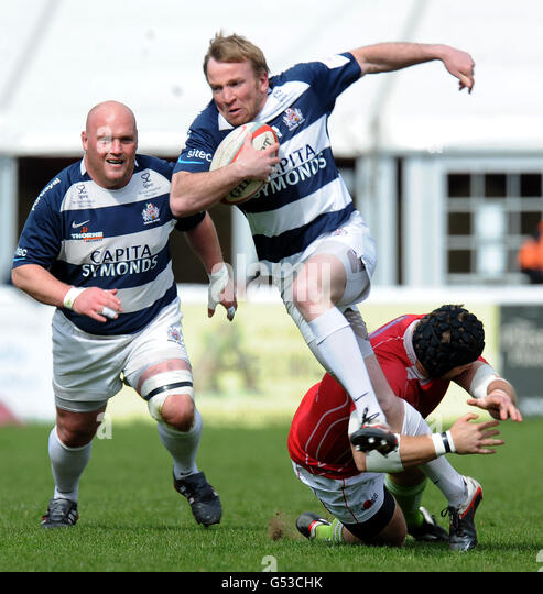 Old Deer Park Rugby Club: Sean James Stock Photos & Sean James Stock Images