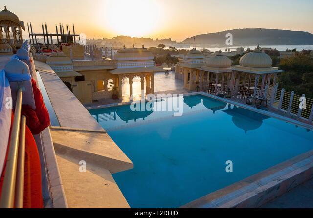 Udai Kothi Hotel Pool Udaipur Stock Photos Udai Kothi Hotel Pool Udaipur Stock Images Alamy