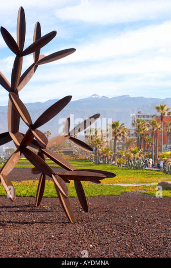 Modern Art Tenerife Canary Islands - Stock Image