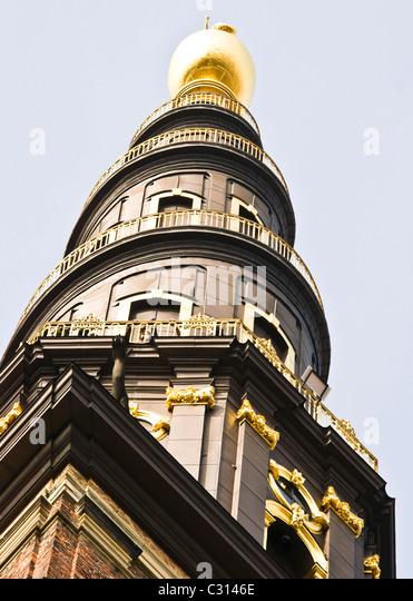 Vor frelsers kirke stock photos vor frelsers kirke stock for Dutch baroque architecture