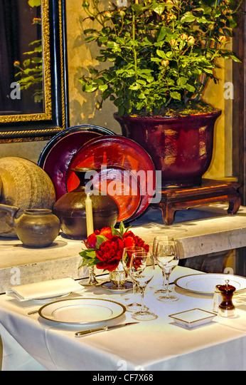 French cuisine dishes table stock photos french cuisine - French haute cuisine dishes ...