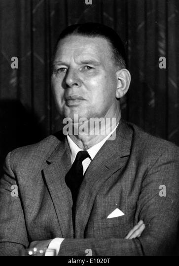 ARTHUR BOTTOMLEY, Baron Bottomley, OBE, PC was a British Labour politician - Stock Image