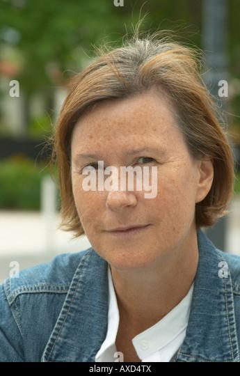 Britt Karlsson, BKWine. Paris, France. - Stock Image