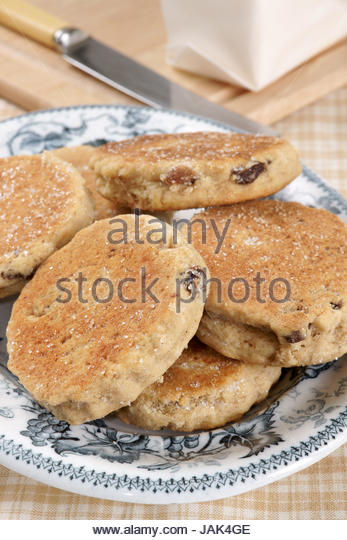 White Chocolate Welsh Cakes
