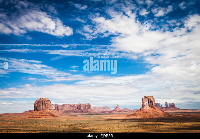 Monument Valley - Stock Image