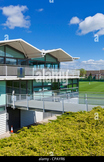 National Cricket Performance Centre Loughborough University campus Leicestershire England UK GB EU Europe - Stock Image