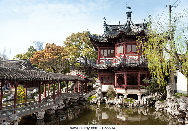 Yu Garden, Shanghai, China - Stock Image