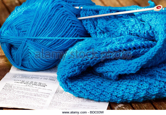 Knitting Wool And Needles : Yarn needles stock photos images alamy