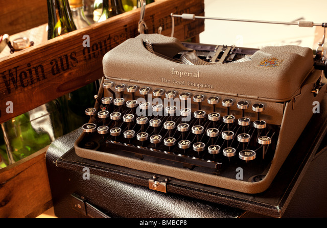 Old typewriter - Stock Image
