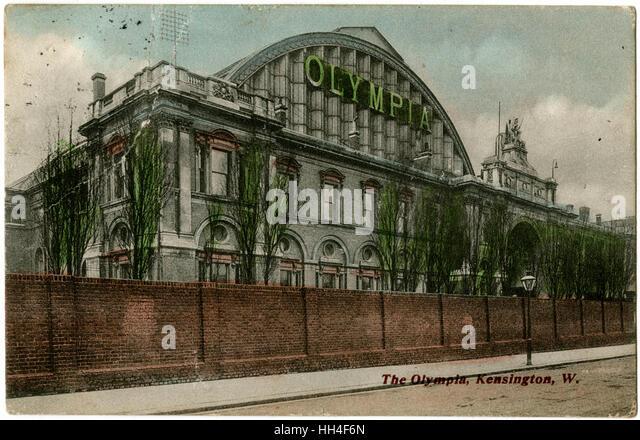 Kensington Olympia Exhibition Hall, London - Stock Image