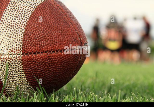 American Football - Stock Image