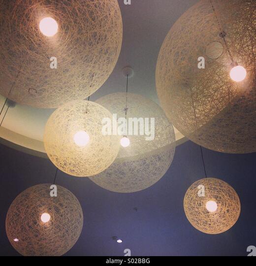 Decorative lights - Stock Image