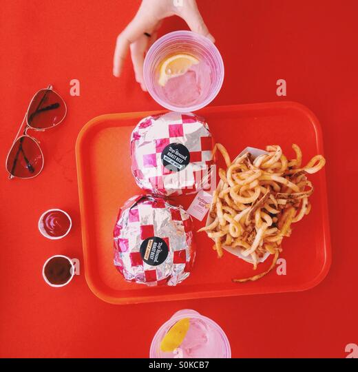 Fast Food - Stock Image
