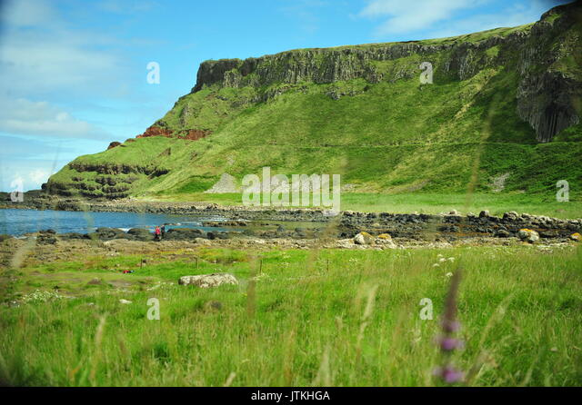Giants Causeway, Nordirland Stockbild