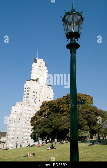 Plaza San Martin - Stock Image
