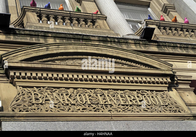 Bank Of Liverpool building,Merseyside,England,UK - Stock Image
